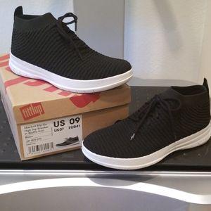 NIB FitFlop Uberknit Slip-On Hi Top Sneaker US09